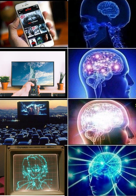 Comment regarder un film - meme