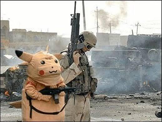 Título foi a guerra - meme