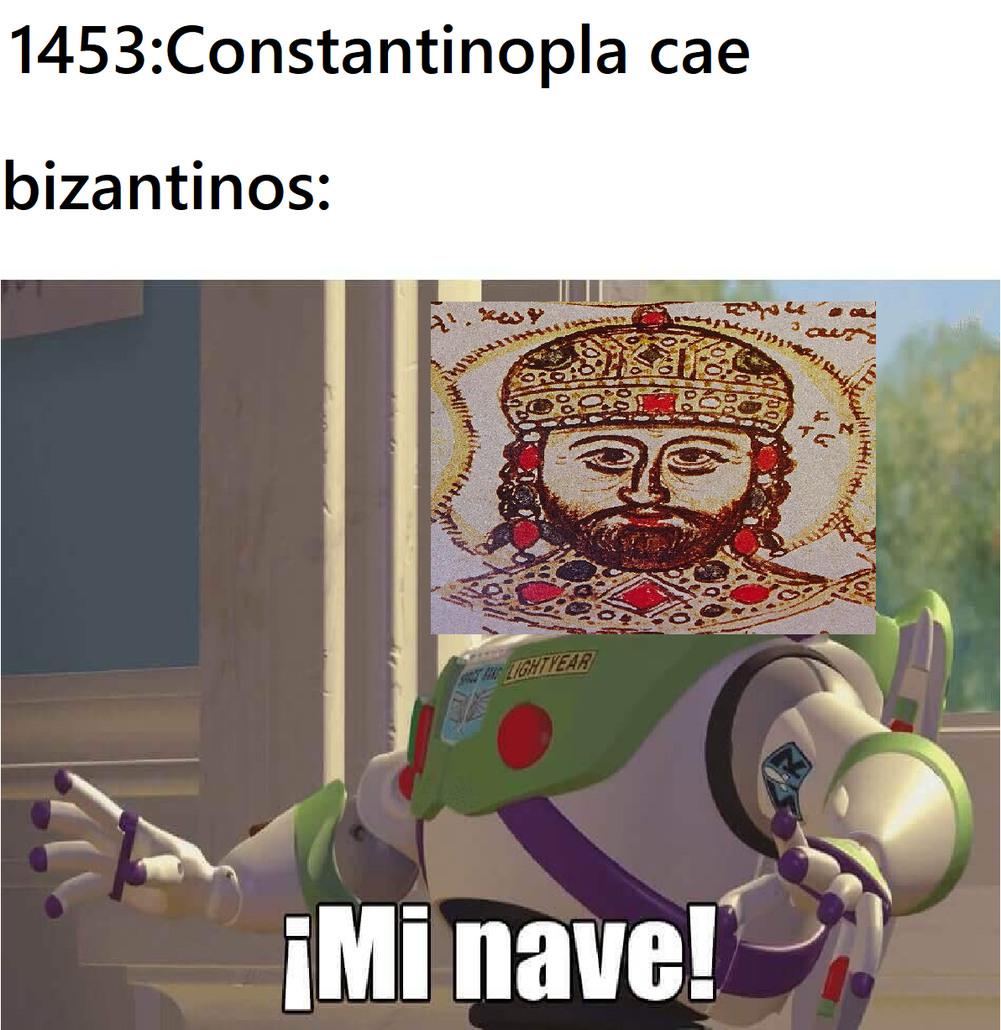 F por constantinopla - meme