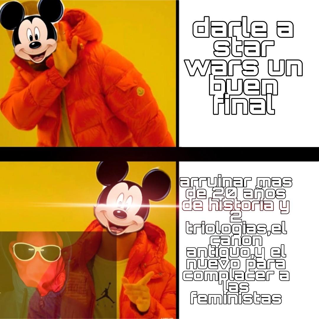 El final de la parte 8 es una mierda - meme
