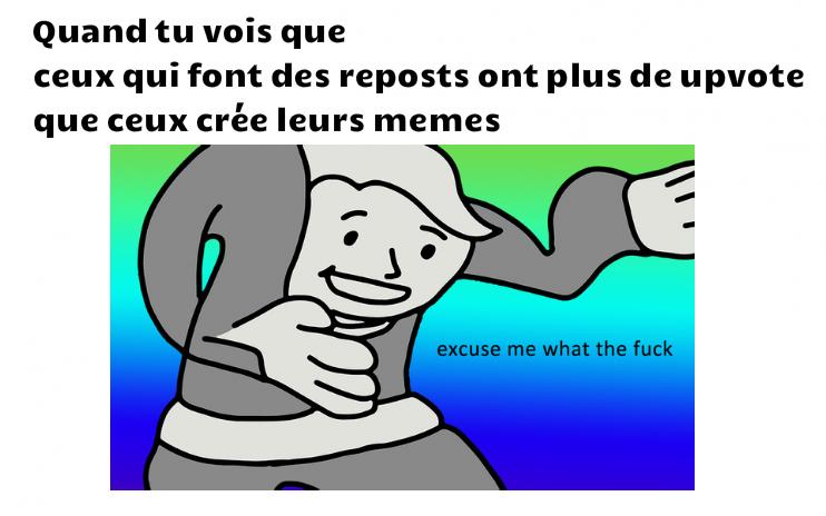 Triste véritée - meme