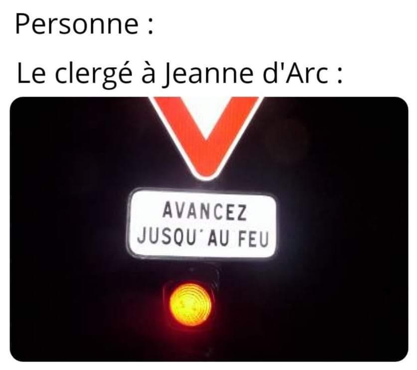 Jeanne d'Arc 1412 - 1431 - meme
