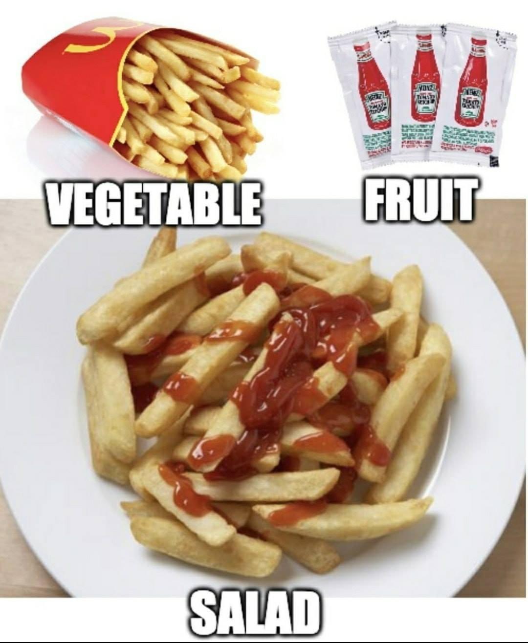 Vous les faites comment vos salades ? - meme