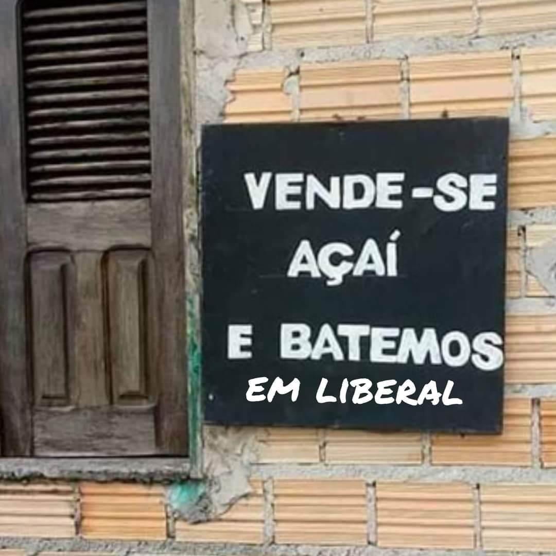Liberal = Bumbum guloso - meme