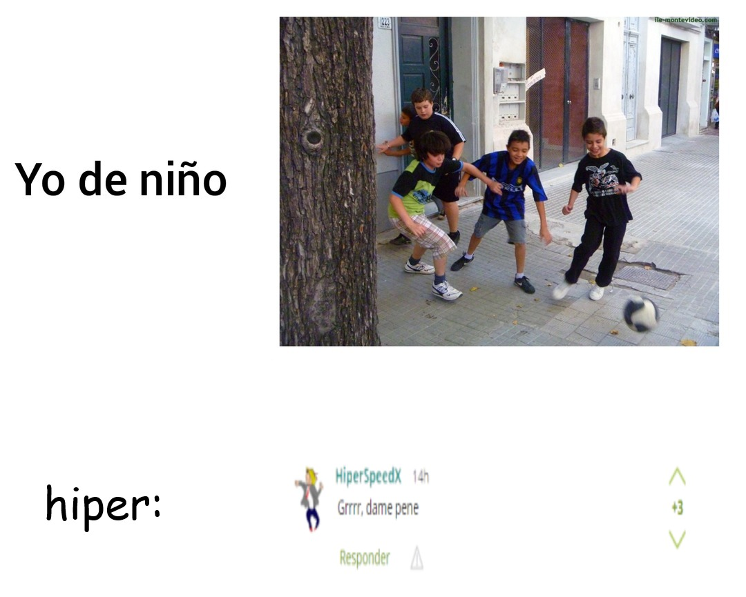 hiper siendo hiper :nimodo: - meme