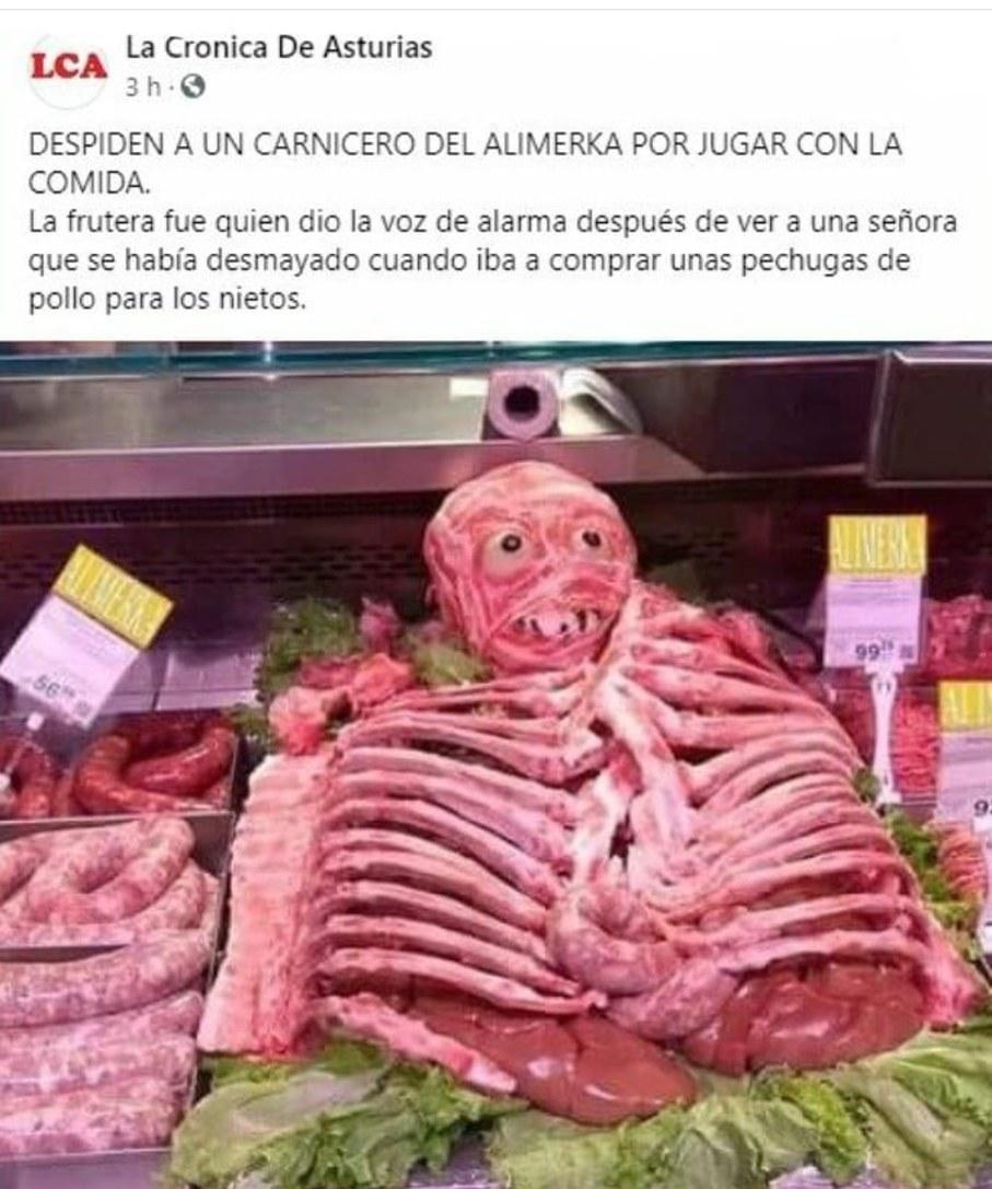 Carne truco - meme