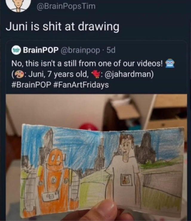Terrible artist - meme