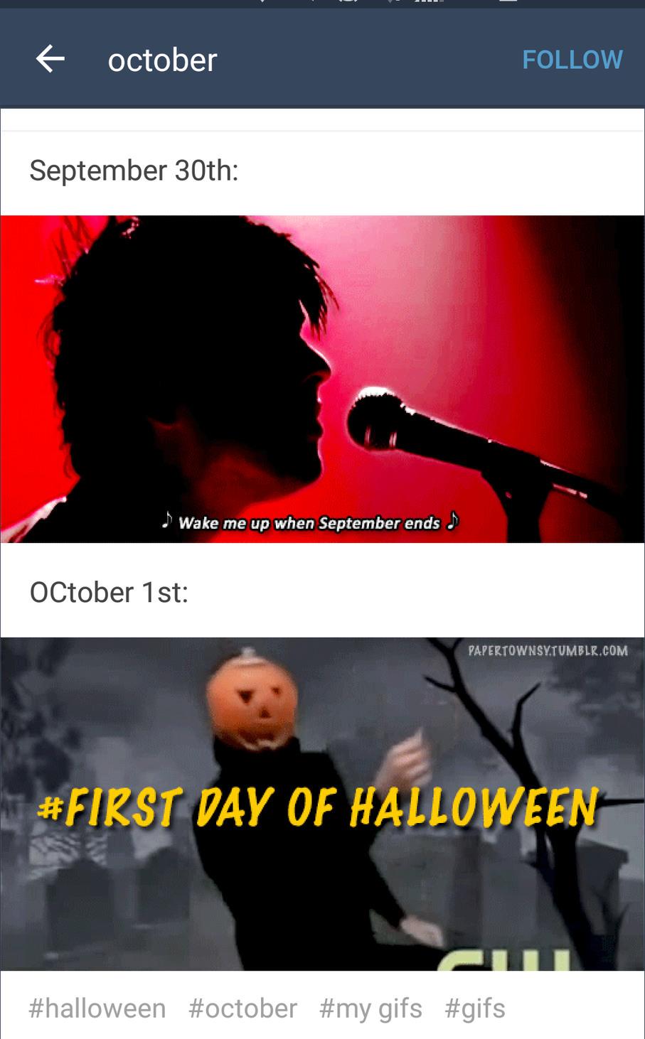 It's halloween Wooooooooooo - meme