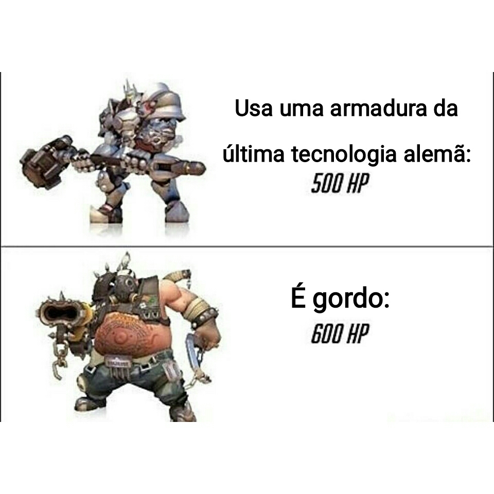 Lógica do overwatch - meme