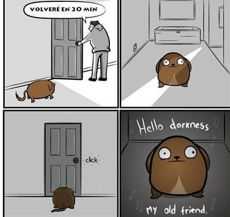 El sufrimiento - meme