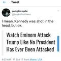 Trump vs Eminem vs Media