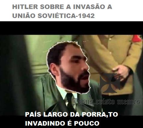 deixar um oco nos nazi - meme