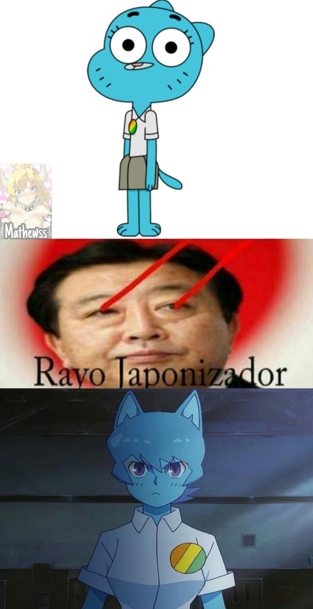 RAYO JAPONIZADOR!! - meme