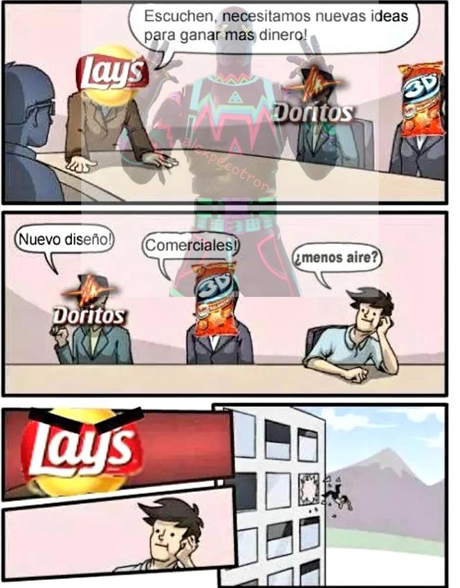 Triste pero real - meme