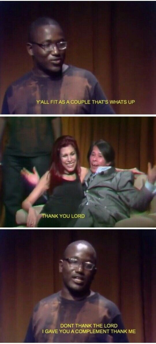 Eric Andre and Conan O'Brien are the only talk show hosts that matter - meme