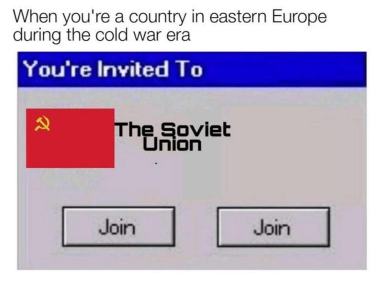 Imagine the memes of USSR was still around