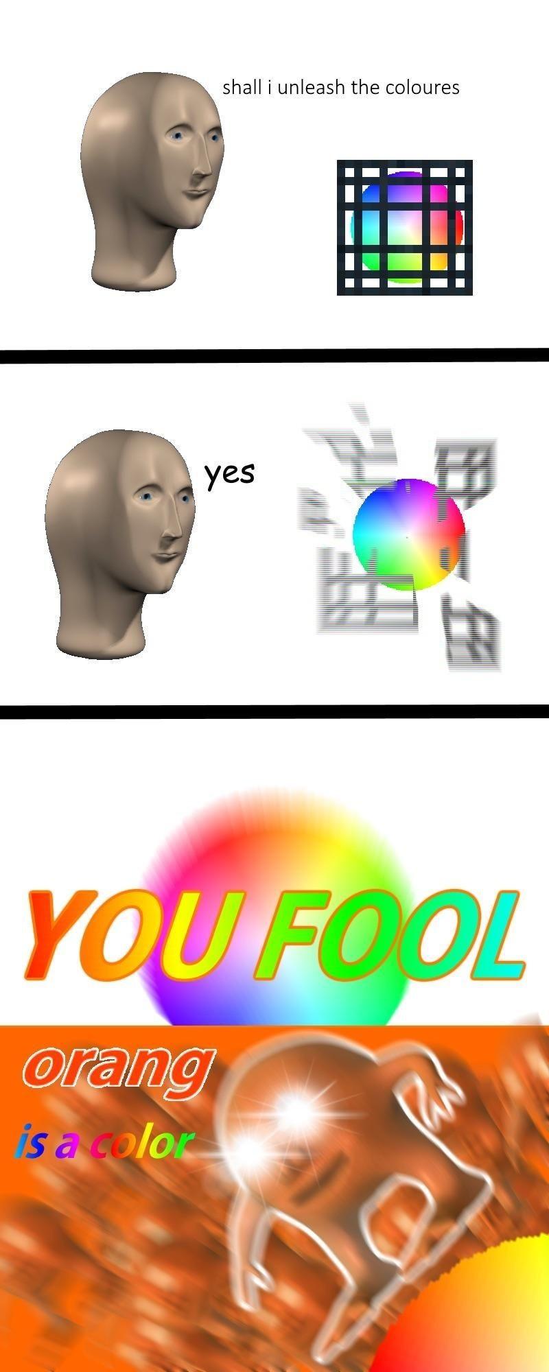 Orang - meme