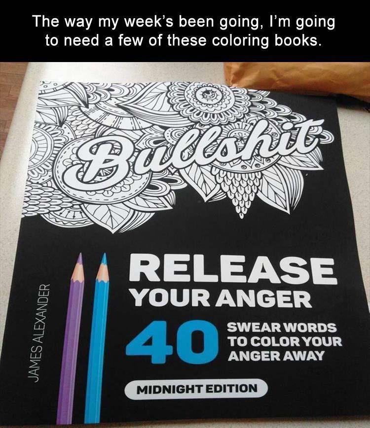 Colorful metaphors. CUSStom coloring books. - meme