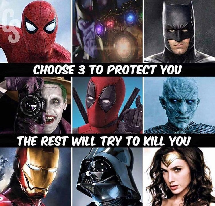wich one's would you chose ? - meme