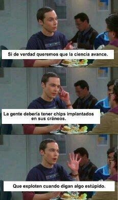 Sheldon Cooper <3 - meme