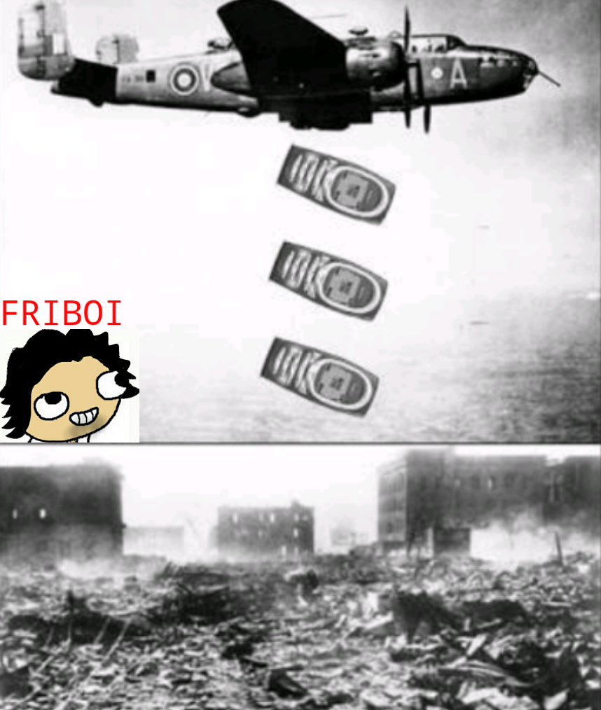 Nokia > Todas as bombas - meme