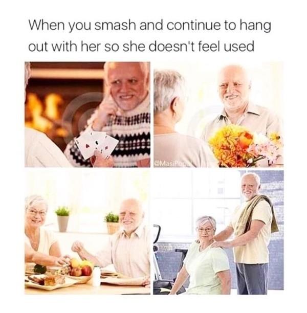 It's called being a gentleman - meme