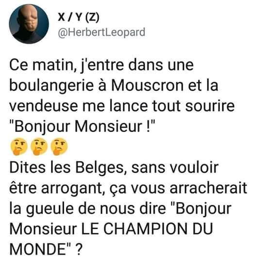 Les français fier jusqu'au bout!! - meme