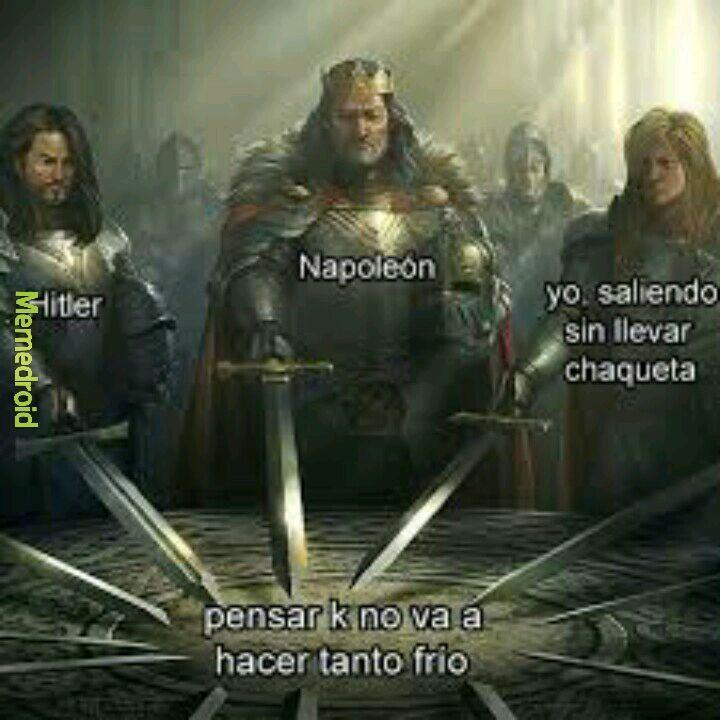 Caballeros de la mesa redonda - meme