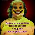 ¿Este Joker gordo y siniestro da más miedo? xd