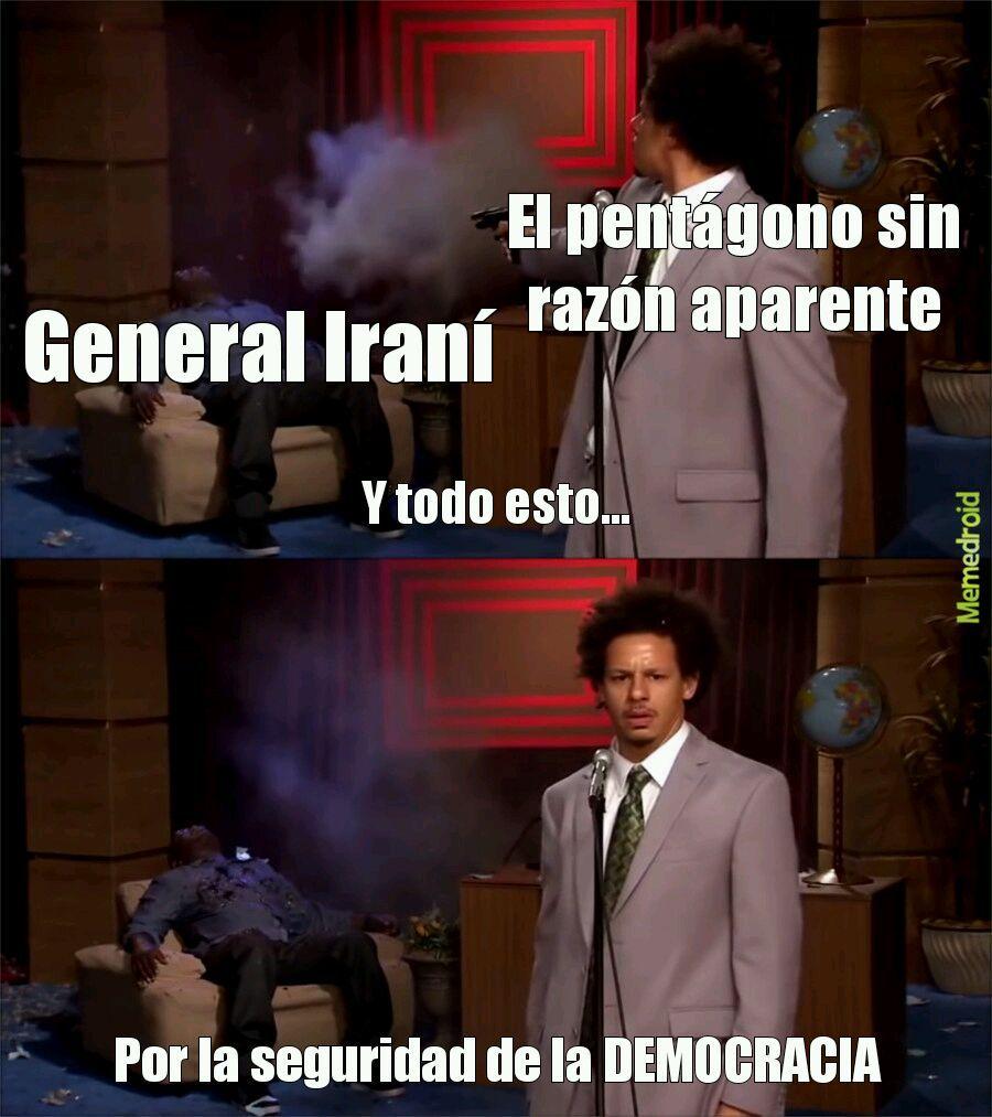 Tipica respuesta estadounidense - meme