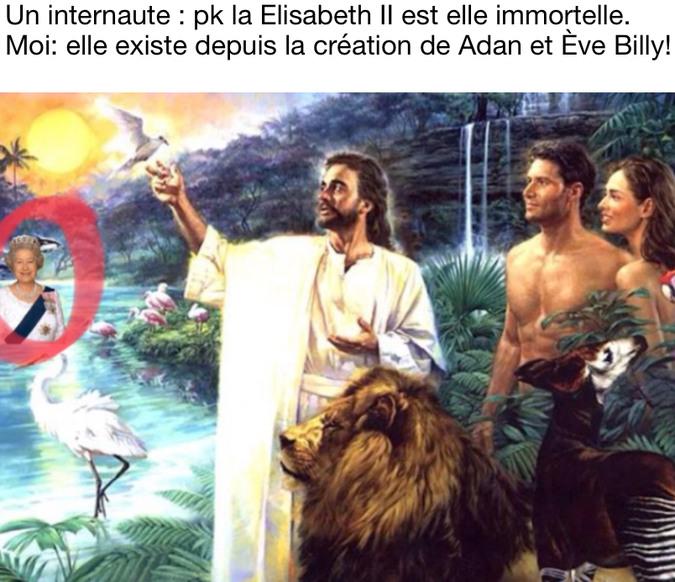 Si vous vous demander où est passé Elizabeth I, demander vous ou sont passer les dinosaures. - meme