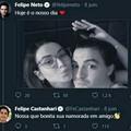 Jurava que o Felipe Feto era gay