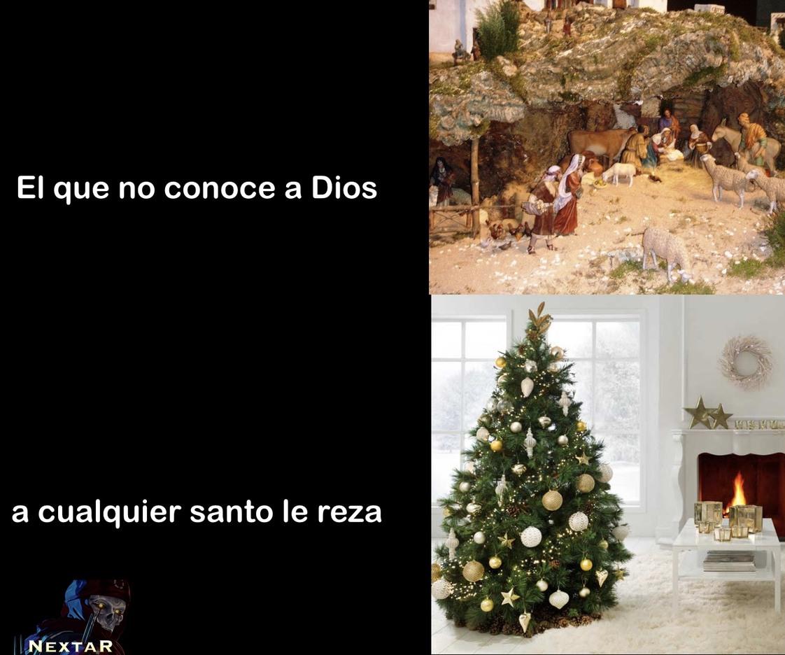 El mítico pesebre que se encuentra en cada casa de un buen español. Ya se acercan los memes de navidad y acaba de empezar noviembre :really: