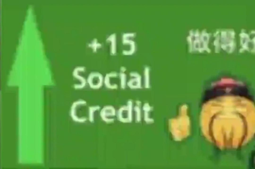 +15 social credit - meme