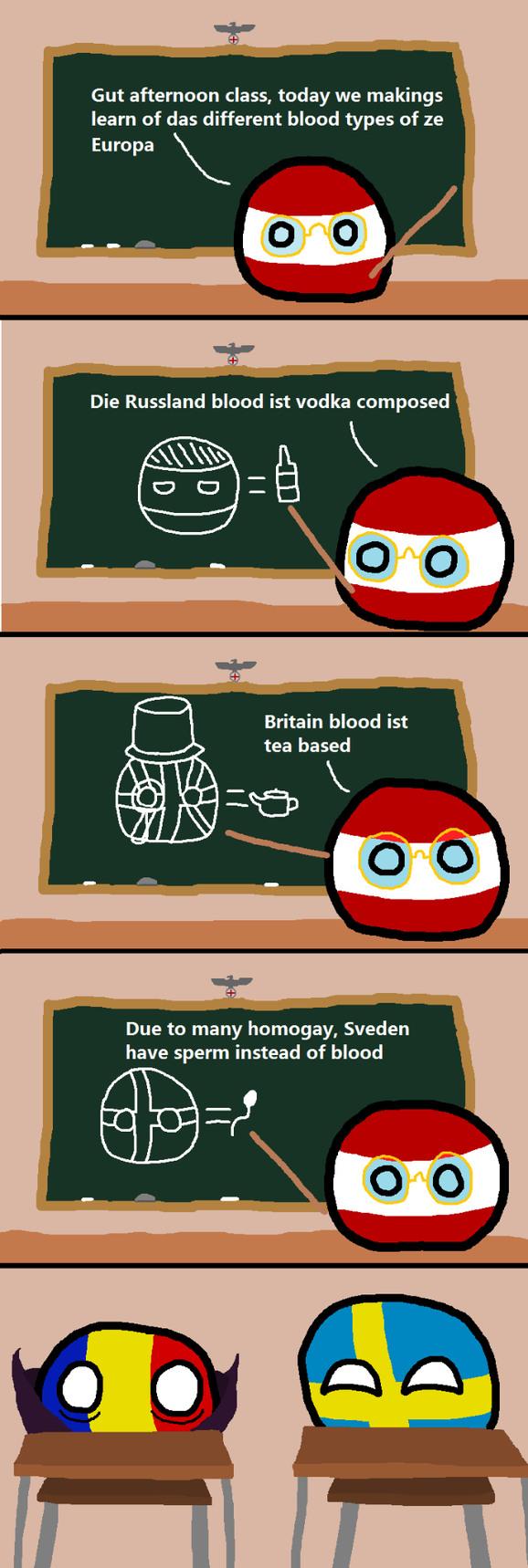 Teacher Austria - meme