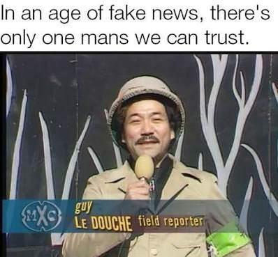 He is the one we can trust - meme