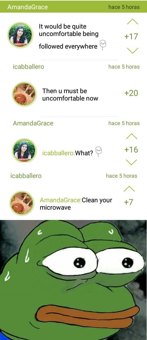 I'm very afraid - meme
