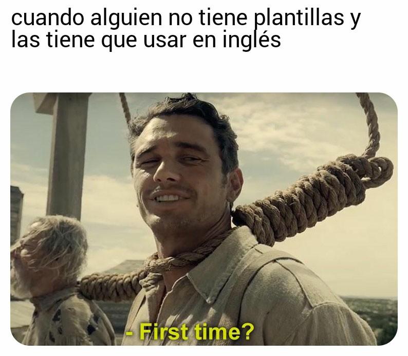 Primera vez - meme