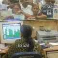 Fire and Brazil be chilling