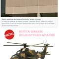 Nueva Barbie Helicoptero Apache
