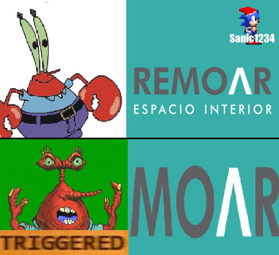 Para el que no entienda:hay un episodio de bob esponja en donde don cangrejo dice moar (mas en español - meme