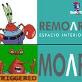 Para el que no entienda:hay un episodio de bob esponja en donde don cangrejo dice moar (mas en español