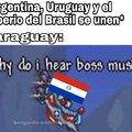 Pobre paraguai :'(