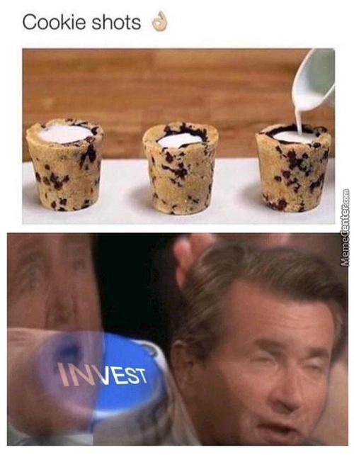 Cookie shots - meme