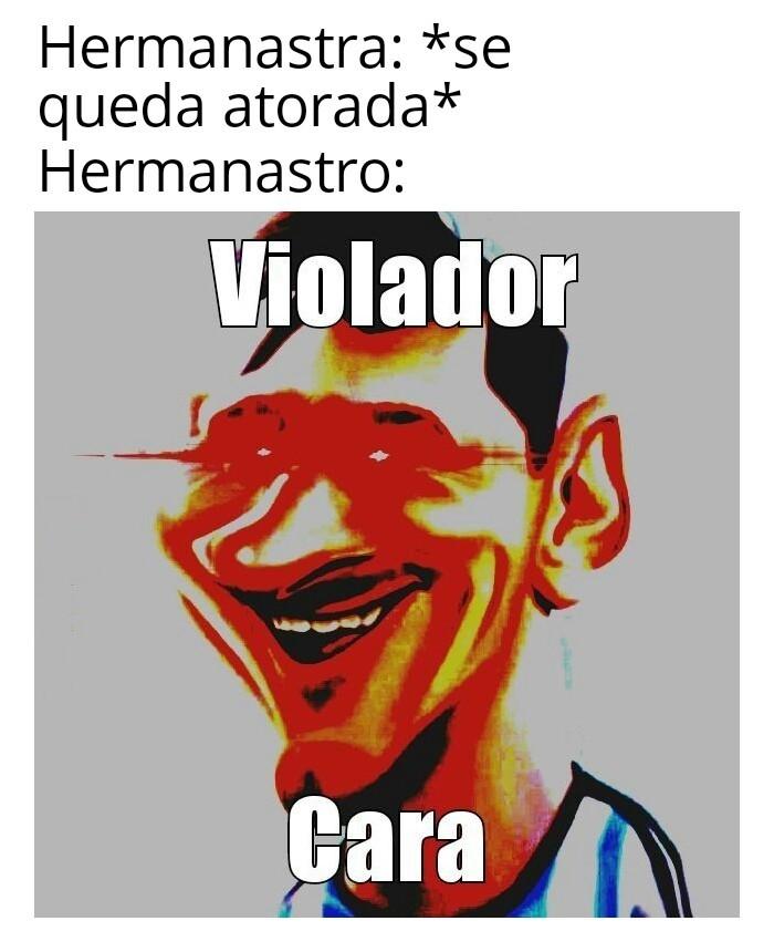 Violación potente - meme