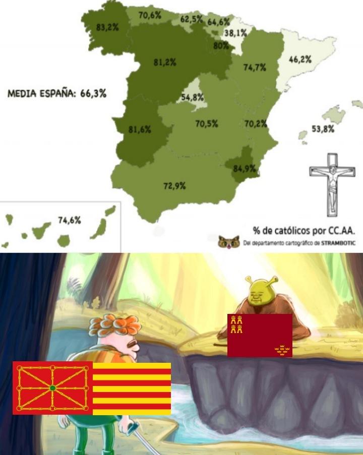Murcia tiene el poder de Cristo Rey - meme