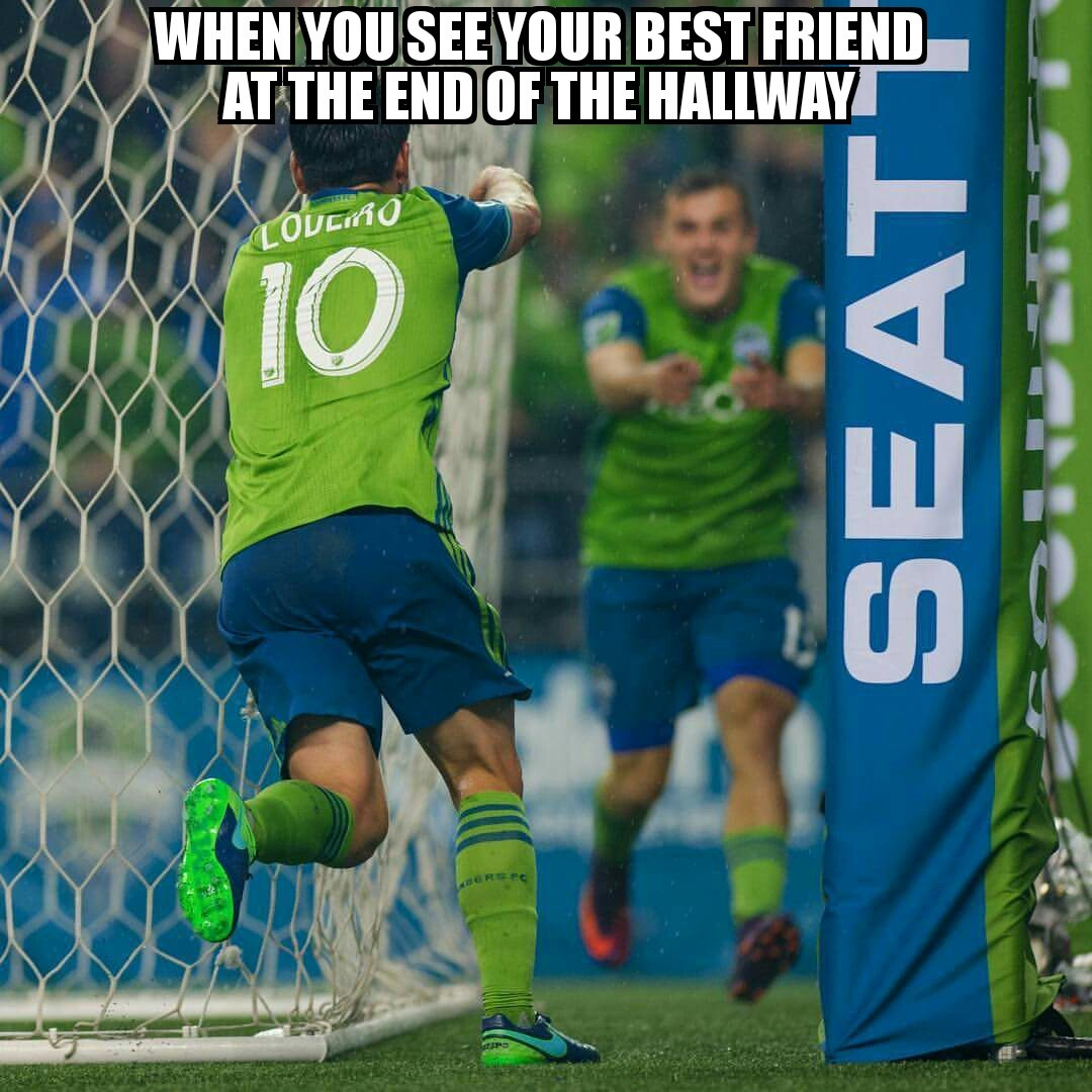 Seattle Sounders love - meme