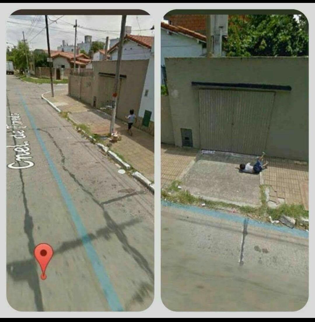 Nada como um dia normal no Google Maps - meme