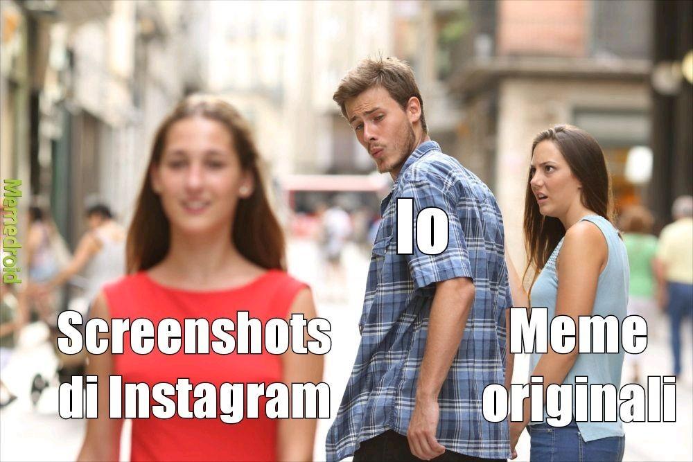 L'unico che non è un repost - meme