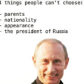 Best president for russia?